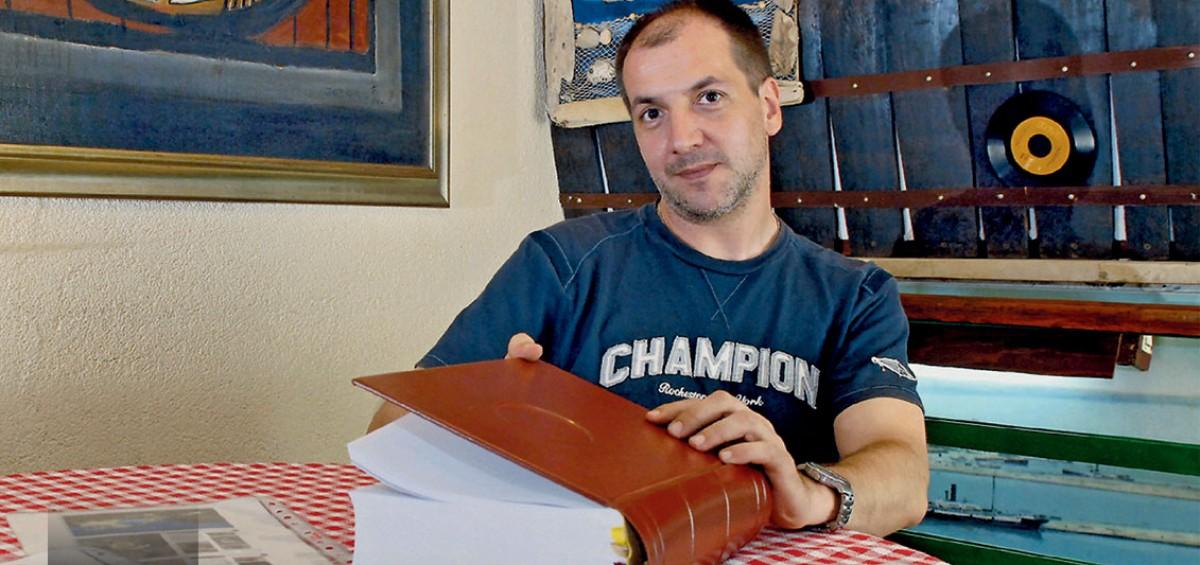 BRAČKA BIBLIJA i ROBERT BARILLA (foto © Jadran Babić)