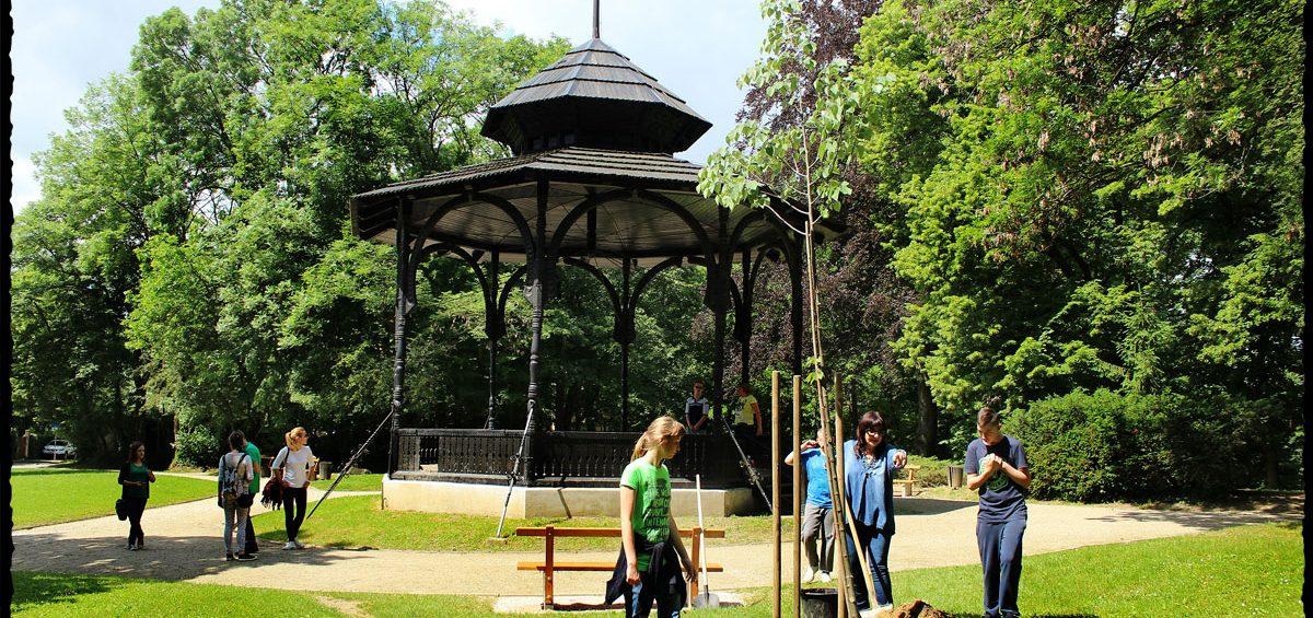 Sadnja Nazorove lipe u parku Tuškanac